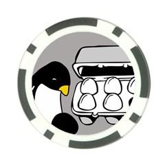 Egg Box Linux Poker Chip