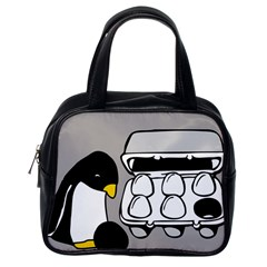 Egg Box Linux Classic Handbag (One Side)