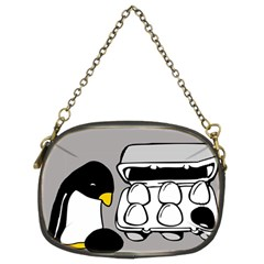 Egg Box Linux Chain Purse (Two Sided)