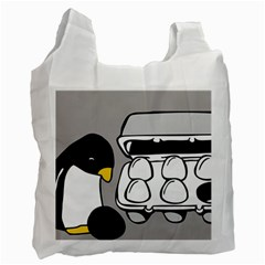 Egg Box Linux Recycle Bag (One Side)