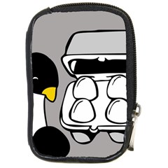 Egg Box Linux Compact Camera Leather Case