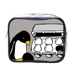 Egg Box Linux Mini Travel Toiletry Bag (One Side)