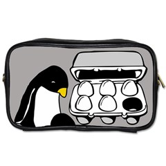 Egg Box Linux Travel Toiletry Bag (two Sides)