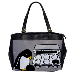 Egg Box Linux Oversize Office Handbag (one Side)