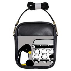 Egg Box Linux Girl s Sling Bag