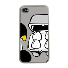 Egg Box Linux Apple Iphone 4 Case (clear)
