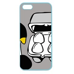 Egg Box Linux Apple Seamless iPhone 5 Case (Color)