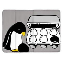 Egg Box Linux Kindle Fire Flip Case