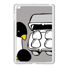 Egg Box Linux Apple iPad Mini Case (White)