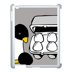 Egg Box Linux Apple Ipad 3/4 Case (white)