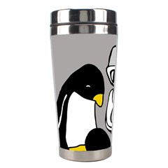 Egg Box Linux Stainless Steel Travel Tumbler