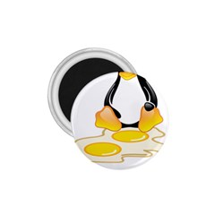 LINUX TUX PENGUIN BIRTH 1.75  Button Magnet