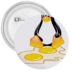 LINUX TUX PENGUIN BIRTH 3  Button