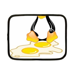 LINUX TUX PENGUIN BIRTH Netbook Sleeve (Small)