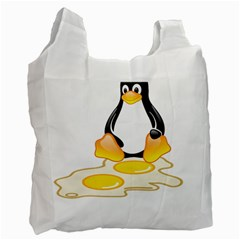 LINUX TUX PENGUIN BIRTH Recycle Bag (One Side)