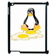 Linux Tux Penguin Birth Apple Ipad 2 Case (black)