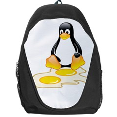LINUX TUX PENGUIN BIRTH Backpack Bag