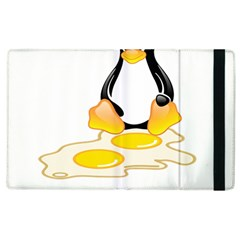 LINUX TUX PENGUIN BIRTH Apple iPad 2 Flip Case