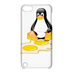 LINUX TUX PENGUIN BIRTH Apple iPod Touch 5 Hardshell Case with Stand
