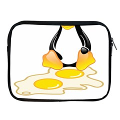 Linux Tux Penguin Birth Apple Ipad Zippered Sleeve