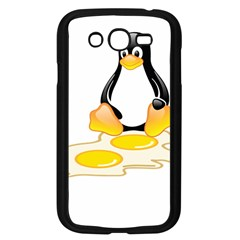 LINUX TUX PENGUIN BIRTH Samsung Galaxy Grand DUOS I9082 Case (Black)