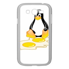 LINUX TUX PENGUIN BIRTH Samsung Galaxy Grand DUOS I9082 Case (White)