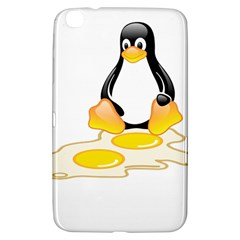 LINUX TUX PENGUIN BIRTH Samsung Galaxy Tab 3 (8 ) T3100 Hardshell Case