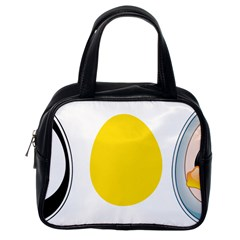 Linux Tux Penguin In The Egg Classic Handbag (one Side)