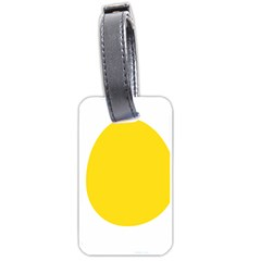 Linux Tux Penguin In The Egg Luggage Tag (one Side)