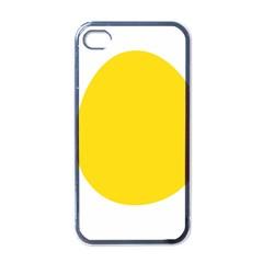 LINUX TUX PENGUIN IN THE EGG Apple iPhone 4 Case (Black)