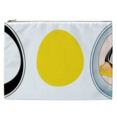 LINUX TUX PENGUIN IN THE EGG Cosmetic Bag (XXL)