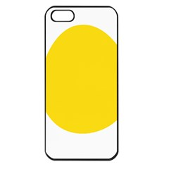 LINUX TUX PENGUIN IN THE EGG Apple iPhone 5 Seamless Case (Black)
