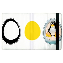 LINUX TUX PENGUIN IN THE EGG Apple iPad 2 Flip Case