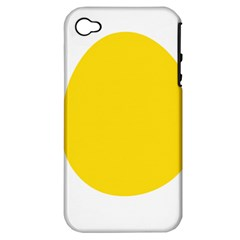 LINUX TUX PENGUIN IN THE EGG Apple iPhone 4/4S Hardshell Case (PC+Silicone)