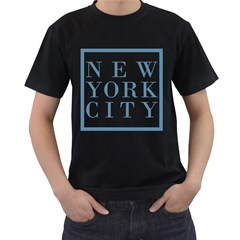 New York City Mens' T-shirt (Black)