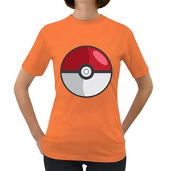 Pokeball Womens' T Shirt (colored)