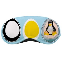 Linux Tux Penguin In The Egg Sleeping Mask