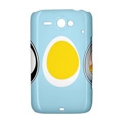 LINUX TUX PENGUIN IN THE EGG HTC ChaCha / HTC Status Hardshell Case