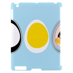 LINUX TUX PENGUIN IN THE EGG Apple iPad 2 Hardshell Case (Compatible with Smart Cover)
