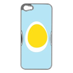 Linux Tux Penguin In The Egg Apple Iphone 5 Case (silver)