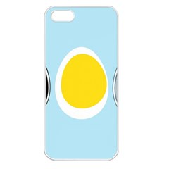 LINUX TUX PENGUIN IN THE EGG Apple iPhone 5 Seamless Case (White)