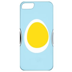 LINUX TUX PENGUIN IN THE EGG Apple iPhone 5 Classic Hardshell Case