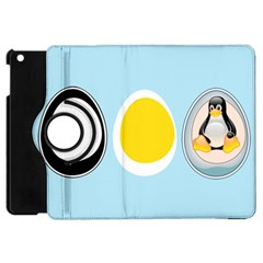 LINUX TUX PENGUIN IN THE EGG Apple iPad Mini Flip 360 Case