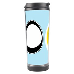 Linux Tux Penguin In The Egg Travel Tumbler