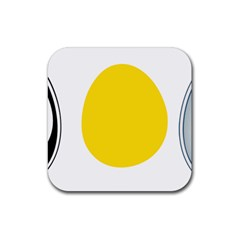 LINUX TUX PENGUIN IN THE EGG Drink Coasters 4 Pack (Square)