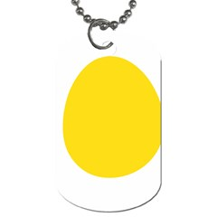 LINUX TUX PENGUIN IN THE EGG Dog Tag (Two-sided)