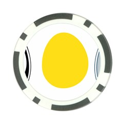 Linux Tux Penguin In The Egg Poker Chip