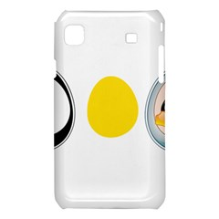 LINUX TUX PENGUIN IN THE EGG Samsung Galaxy S i9008 Hardshell Case