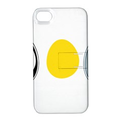 LINUX TUX PENGUIN IN THE EGG Apple iPhone 4/4S Hardshell Case with Stand