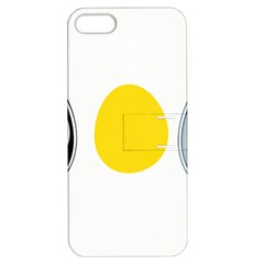 Linux Tux Penguin In The Egg Apple Iphone 5 Hardshell Case With Stand